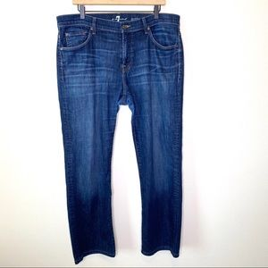 7 For All Mankind Austyn Straight Jeans Size 36